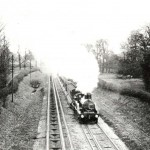 Broad Gauge Train near Bathampton
